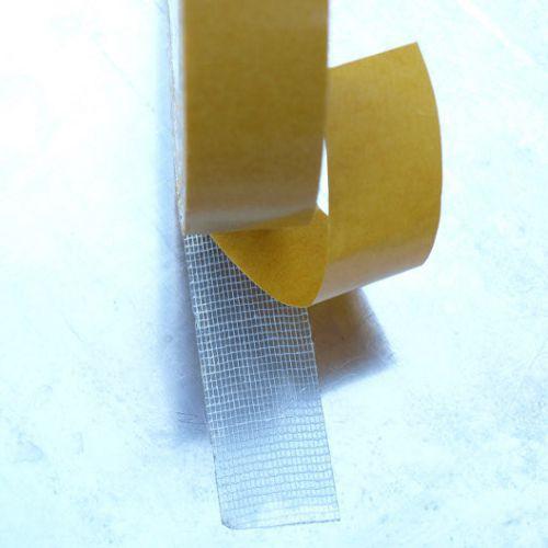 Cinta adhesiva doble cara tejido algodon