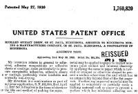 Patente cinta adhesiva doble cara